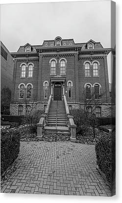 University Of Illinois Harker Hall  Canvas Print by John McGraw