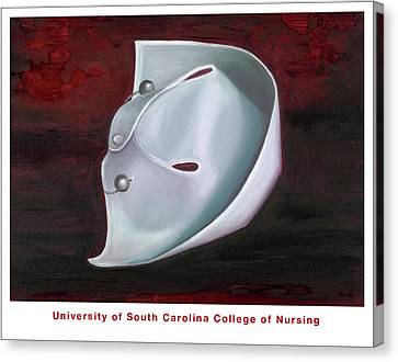 University Of South Carolina College Of Nursing Canvas Print by Marlyn Boyd