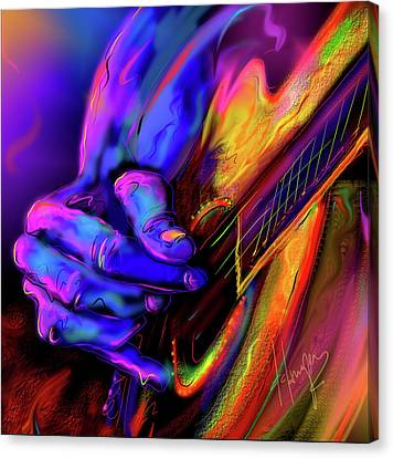 Unplugged Canvas Print by DC Langer