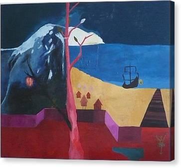 Untitled Canvas Print by Christopher Pekarik