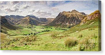Upper Langdale, English Lake District Canvas Print by Colin and Linda McKie