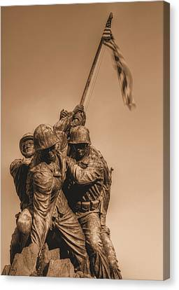Usmc Canvas Print by JC Findley