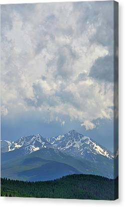 Canvas Print featuring the photograph Vail Colorado Series 2 by Steven Richman