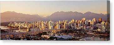 Vancouver British Columbia Canada Canvas Print by Panoramic Images