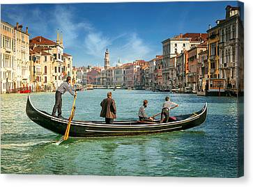 Venice Grand Canal Canvas Print by Nick M