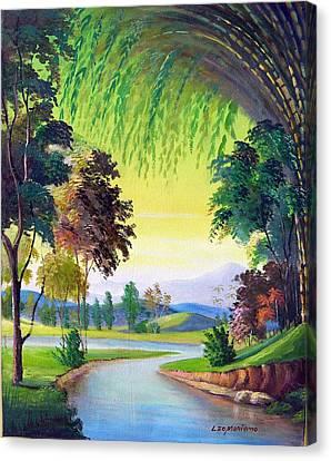 Verde Que Te Quero Verde Canvas Print by Leomariano artist BRASIL