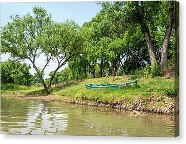 Verde River Canvas Print - Verde River, Arizona by Jon Manjeot