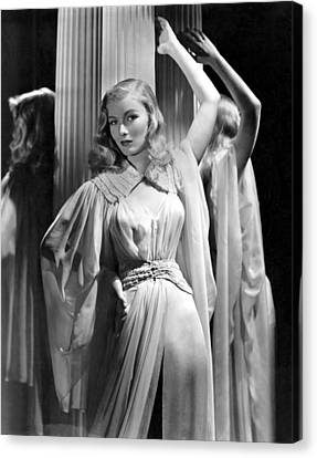 Veronica Lake, Paramount Pictures Canvas Print by Everett