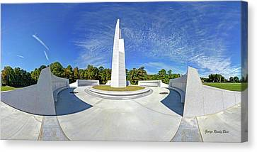 Veterans Freedom Park, Cary Nc. Canvas Print