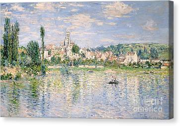 Vetheuil In Summer, 1880 Canvas Print by Claude Monet