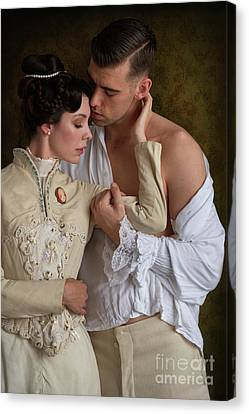 Victorian Lovers Canvas Print