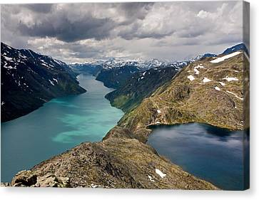 View From Bessegen Ridge Canvas Print