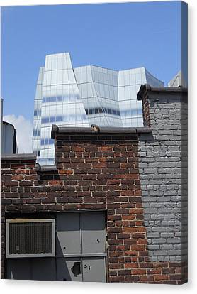 View From The High Line Canvas Print by Jim Ramirez