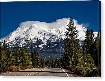 View Of Mount Shasta Canvas Print