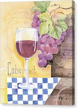 Vintage Cabernet Canvas Print by Paul Brent