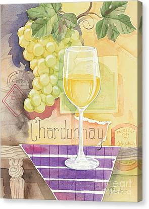 Vintage Chardonnay Canvas Print by Paul Brent