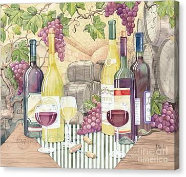 Vintage Wine II Canvas Print by Paul Brent