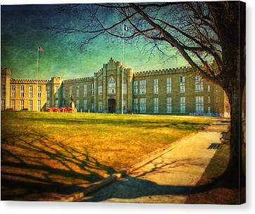 Virginia Military Institute  Canvas Print by Kathy Jennings