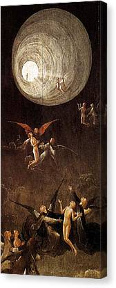 Christian Sacred Canvas Print - Visions Of The Hereafter, Ascent Of The Blessed by Hieronymus Bosch