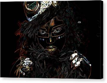 Voodoo Woman Canvas Print by Hugh Smith
