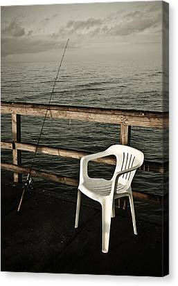 Waiting Canvas Print by Marilyn Hunt