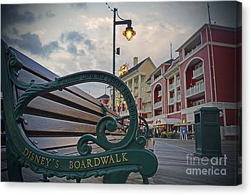 Walt Disney World - Boardwalk Villas  Canvas Print