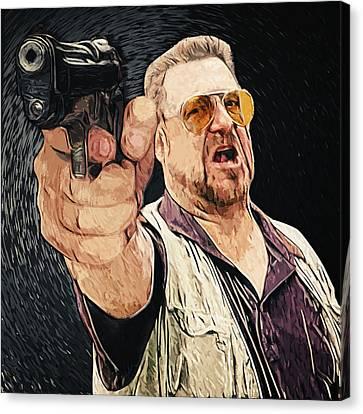 Walter Sobchak Canvas Print