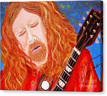 Warren Haynes Canvas Print by Angela Murray