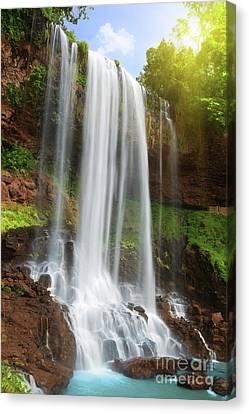 Waterfall Canvas Print by MotHaiBaPhoto Prints
