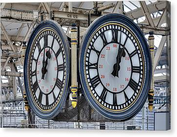 Waterloo Station - London Canvas Print by Joana Kruse