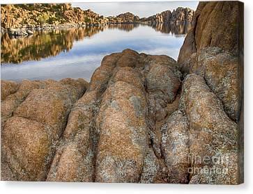 Watson Lake Canvas Print - Watson Lake Arizona 15 by Bob Christopher