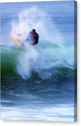 Wave Blaster Canvas Print by Ron Regalado
