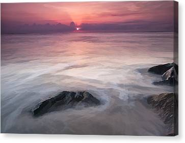 Wavy Day II Canvas Print by Jon Glaser