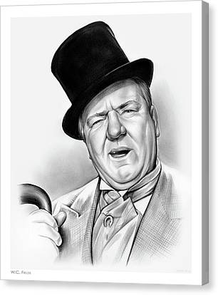 Wc Fields Canvas Print by Greg Joens