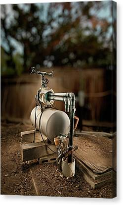Well Pump Canvas Print