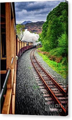 Welsh Highland Railway  Canvas Print