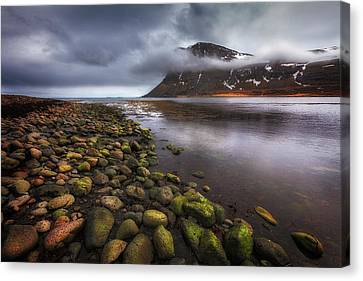 West Fjords Canvas Print by Dominique Dubied