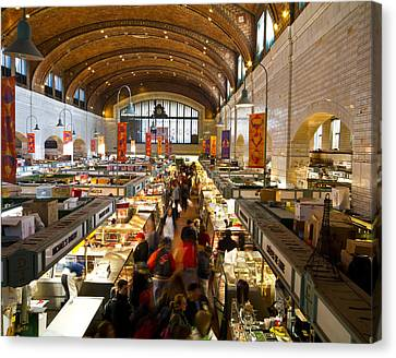 West Side Market  Canvas Print by Tim Fitzwater