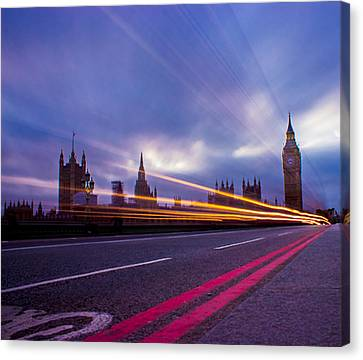 Architectur Canvas Print - Westminster Bridge by Martin Newman