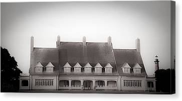 Whalehead Club Canvas Print by Patrick  Flynn