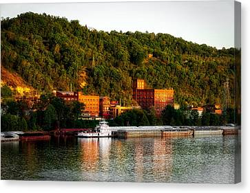 Wheeling Island Canvas Print by Mountain Dreams