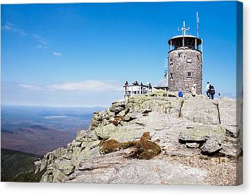 Whiteface Mtn. Tower Lookout Canvas Print