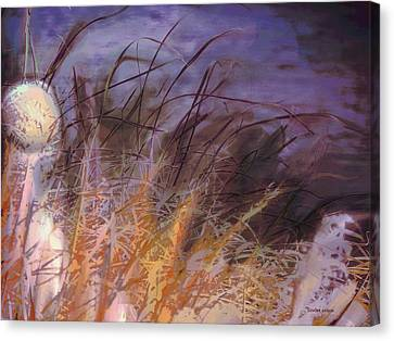 Wild Grasses Canvas Print