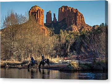 Wild Wild West Canvas Print