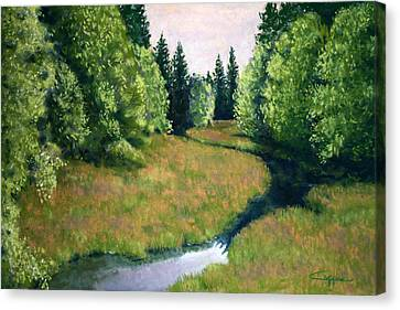 Willamette Valley Summer Canvas Print by Carl Capps