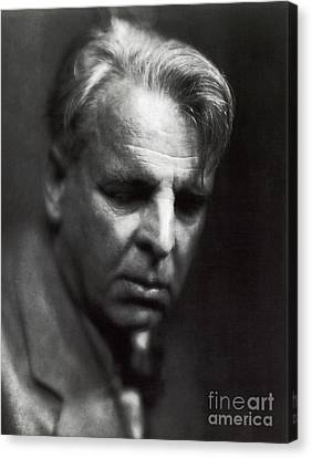 William Butler Yeats Canvas Print by Photo Researchers