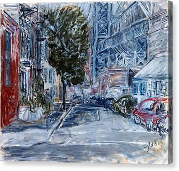 Williamsburg2 Canvas Print by Joan De Bot