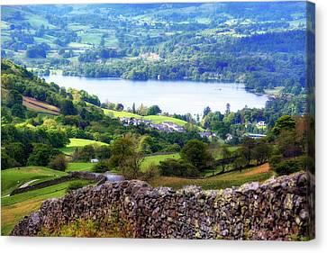 Windermere - Lake District Canvas Print by Joana Kruse