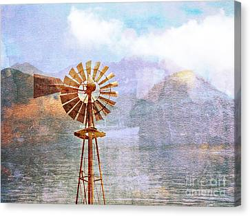 Windmill Dreams II Canvas Print