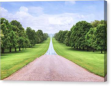 Windsor Castle - Long Walk Canvas Print by Joana Kruse